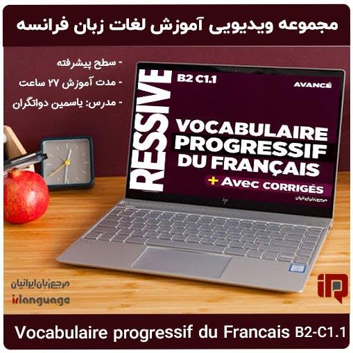 آموزش ویدیویی لغات زبان فرانسه سطح پیشرفته Vocabulaire-Progressif-Du-Francais B2-C1.1